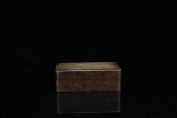 旧藏:【铜胎 仕女图 文房墨盒】-收藏网