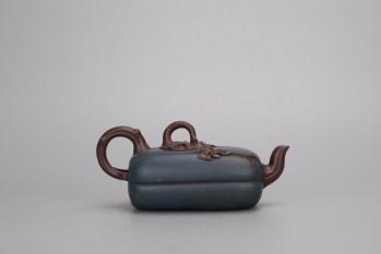 回流:【宝石蓝 瓜形紫砂壶】-收藏网