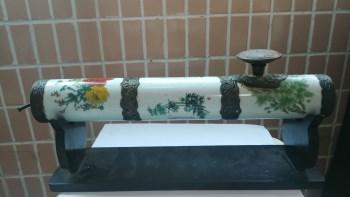 诗文瓷鸦片枪-收藏网