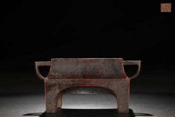 明 精铸铜胎台几炉-收藏网