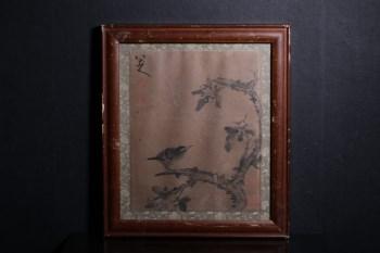 旧藏 八大山人花鸟-收藏网