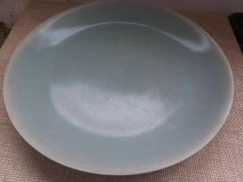 宋代汝瓷盘-收藏网