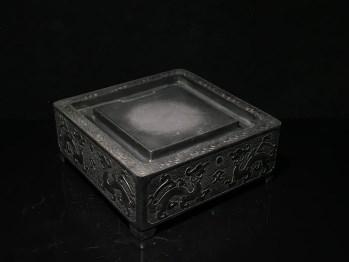 端石平步青云文房端硯-收藏网
