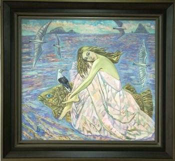 人鱼公主,俄罗斯艺术科学院院士-中国收藏网