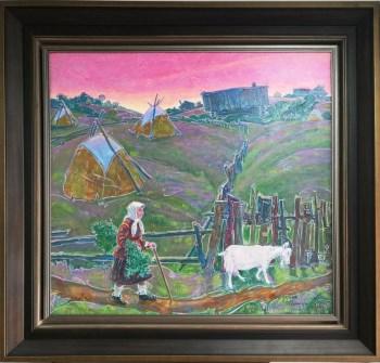 回家,俄罗斯联邦鞑靼斯坦共和国美术家协会主席-收藏网