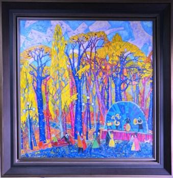 秋天的华尔兹,俄罗斯联邦鞑靼斯坦共和国美术家协会主席-中国收藏网
