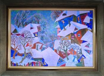 记忆中的喀山,俄罗斯联邦鞑靼斯坦共和国美术家协会主席,功勋艺术家-收藏网