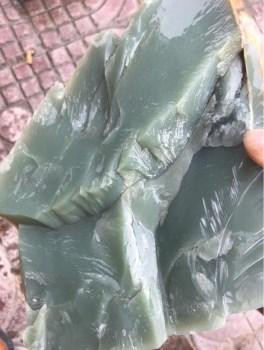 俄罗斯碧玉鸭蛋青-收藏网